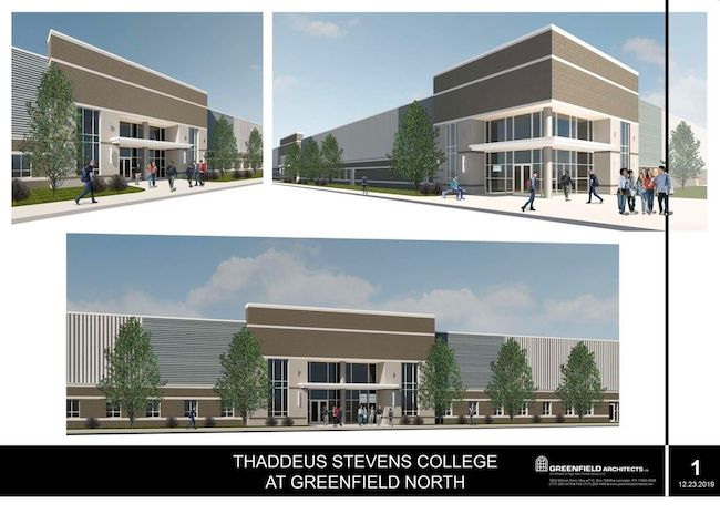 Stevens College of Tech Expanding Footprint with New Diesel School. Source: Greenfield Architects