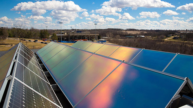 University of Wisconsin-Platteville Solar Array
