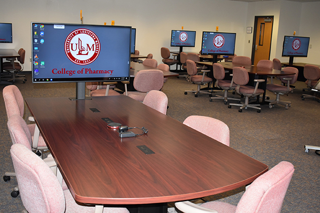 University of Louisiana Monroe active learning classroom